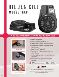 Trapper Hidden Kill Mouse Trap Sell Sheet1