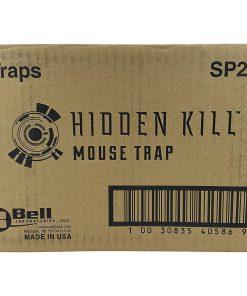 trapper hidden kill mouse trap case